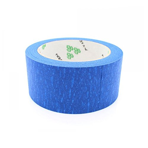 48mm width 50 Meters long Blue Spray Masking Tape High Temperature-resistant Adhesive Tape for 3D Printer parts48mm width 50 Meters long Blue Spray Masking Tape High Temperature-resistant Adhesive Tape for 3D Printer parts