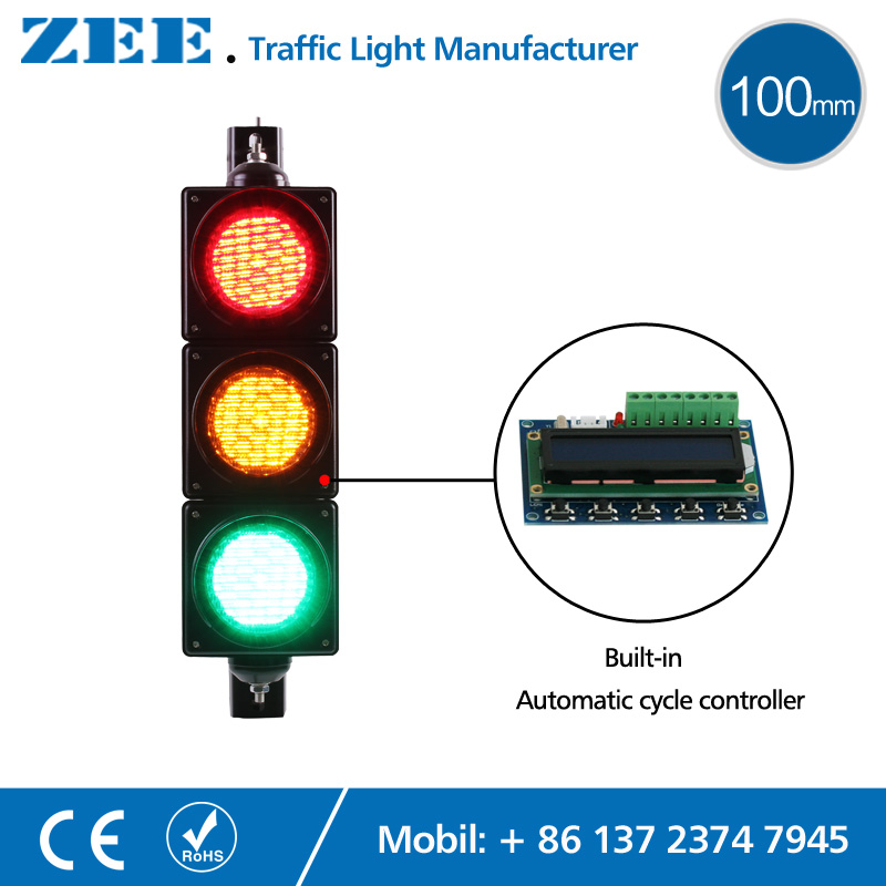 Traffic Light Controller In Xilinx: Low Cost Built In Automatic Cycle Traffic Light Controller