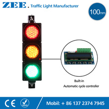 Security Protection - Roadway Safety - Low Cost Built-in Automatic Cycle Traffic Light Controller LED Traffic Light Simplified Traffic Controller LED Traffic Signals