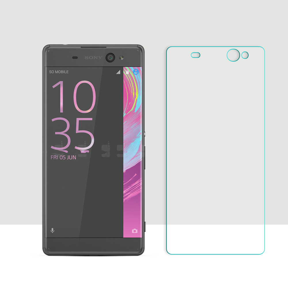 2.5D Curved Edge Screen For Sony Xperia XA Ultra / C6 F3212 F3216 Tempered Glass For Sony Xperia XA Ultra Screen Protector Film