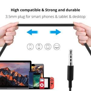 Image 4 - 3.5mm 이어폰 이어 버드 이어폰 플랫 헤드 플러그베이스 이어폰 xiaomi 이어폰 fone de ouvido for meizu cheadset