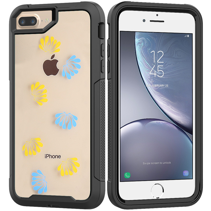 Transparent Shockproof 360 Full Cover For iPhone XS Max XR X 8 7 6 6S Plus Hard PC TPU Doom armor Military Shock Absorption Case in Fitted Cases from Cellphones Telecommunications