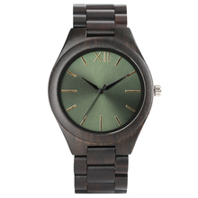 Creative Ebony Wood Watches Men Quartz Wristwatch 2017New Arrival Women Full Wooden Bamboo Bangle Sport Watch Smooth Dial Clock aquamarine yellow color dial full wooden watch men nature wood ebony bangle creative women watches quartz fashion clock 2018 new