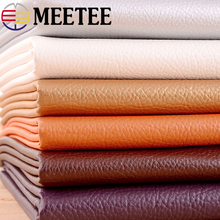 50*135cm PU Litchi Pattern Faux Leather Fabric Artificial Synthetic DIY Sewing Bags Belt Sofa Decor Material