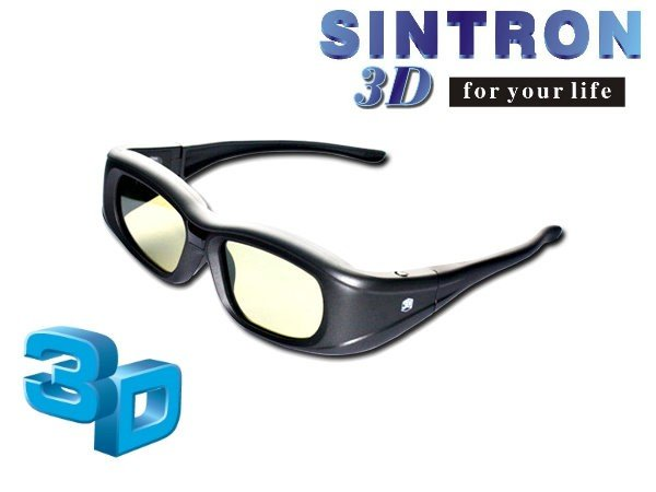 [Sintron] 3D Active glasses for Panasonic TV TX-P55VT50 TX-P65GT50 TX-P65ST50 TX-P60UT50 TH-P50XT50 TX-L47WT50 TX-L47DT50
