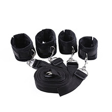 2018 New fashion Adult Amazing Mall-Under Bed Bondage Restraint System with Hand Cuffs Ankle Cuff  Slimming Wraps X@ freeship