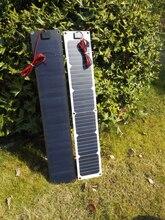 17 V 20 W Solaire Flexible Panneau Chargeur Pour Camping-Cars Voitures 12 V batterie Mono Panneau Solaire Cellulaire avec Contrôleur 800*150*3mm
