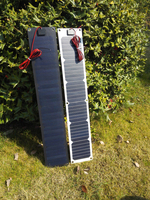 Workstar 17V 20W Flexible Solar Panel Charger For Motorhomes Cars 12V battery Mono Solar Panel Cell with Controller 800*150*3mm