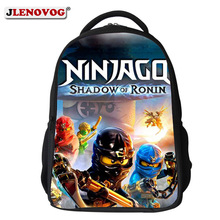 Купить с кэшбэком 2019 Ningago Lego School Bag Large Backpack Carton Hero SchoolBag Kids Book Bags Pupil Backpacks Ruchsack for Boys Girls Mochila