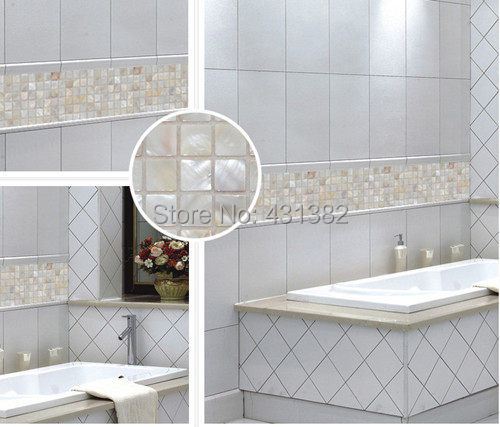 2018 New Style Arch Shape 3D Shell Mosaic Tiles, Naural Mother Of Pearl  Tiles, Kitchen Backsplash, Bathroom Wall Flooring Tiles