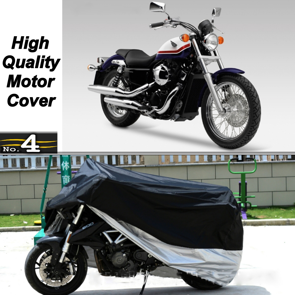 MotorCycle Cover For <font><b>Honda</b></font> <font><b>VT750S</b></font> Tricolour WaterProof UV / Sun / Dust / Rain Protector Cover Made of Polyester Taffeta image