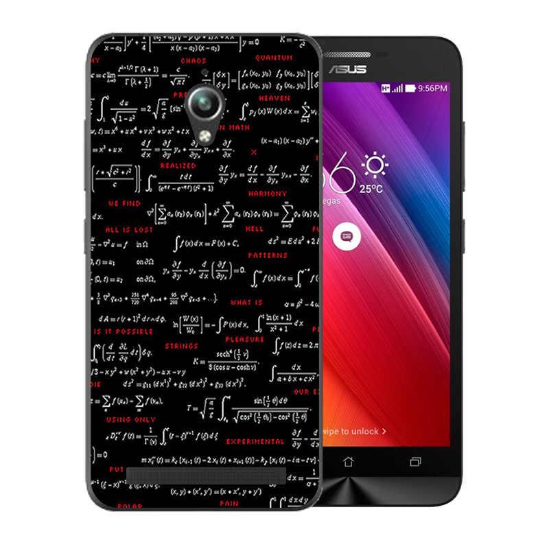 Silikon Lembut untuk Asus Zenfone Go ZC500TG Penutup Belakang Berwarna-warni Pola untuk Fundas ASUS ZC ZC500 500 500TG Perlindungan Ponsel kasus