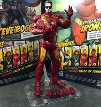 "ML Legends Iron Man Mark MK 4 Sunglass Armor Avenger Wtih Stand 6"" Action Figure Loose"