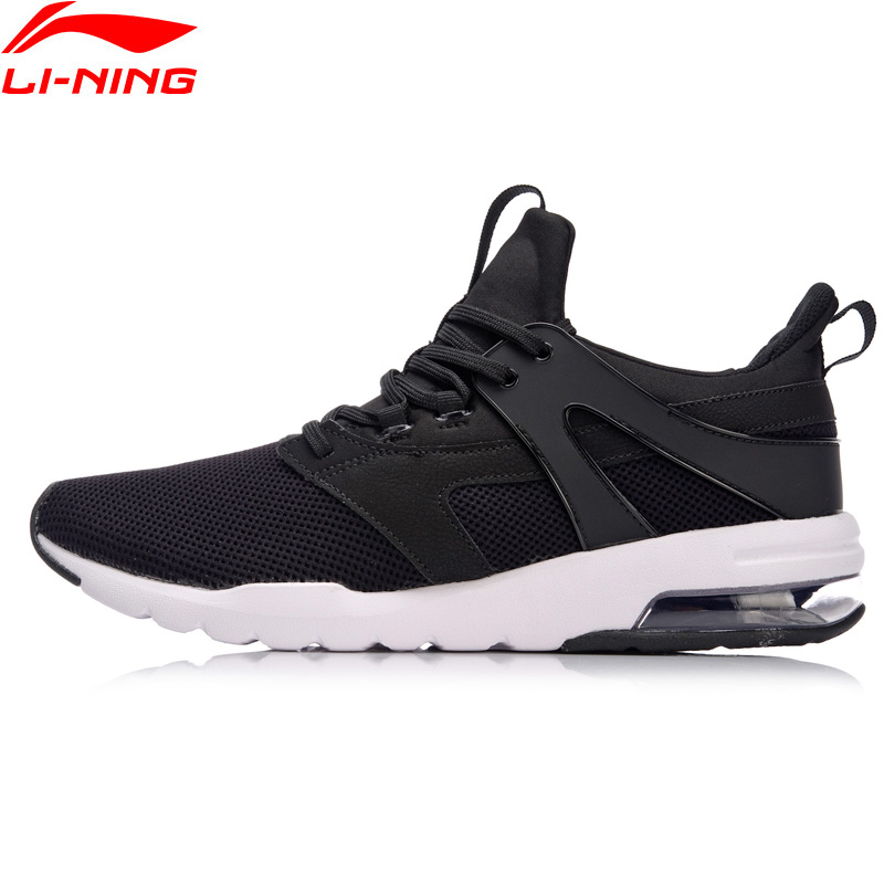Li-Ning Men BUBBLE UP-FOCUS Classic Walking Shoes Wearable Cushion LiNing Sneakers TPU Support Sports Shoes AGCN007 YXB129