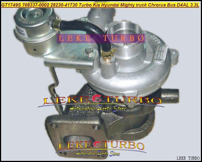 GT1749 708337 708337-0002 708337-5002S 708337-0001 28230-41730 28230-41720 Turbo For Hyundai Might Truck Chrorus BUS D4AL 3.3L скотч 3m 9448ab samsung htc iphone ipad 9448 black
