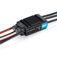 Hobbywing FLYFUN 80A V5 30214201 ESC 3 6S LiPo for RC aircraft DEO Technology New Design & Great performance