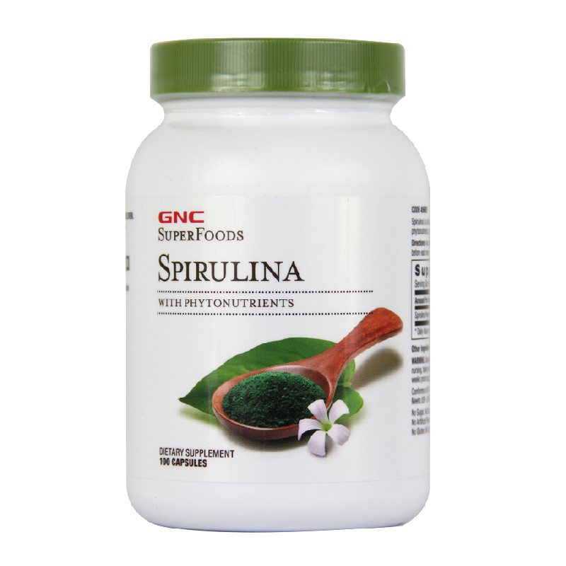 все цены на Spirulina with phytonutrients 500 mg 100 pcs Free shipping онлайн