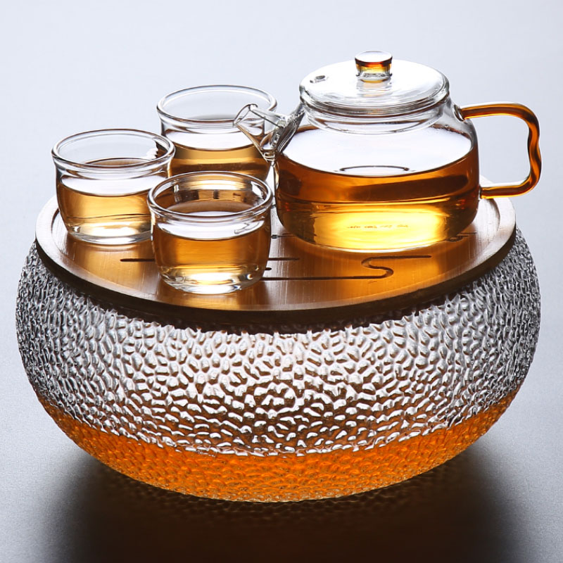 TANGPIN coffee and tea sets glass teapot kettle gaiwan teacups glass portable travel tea set drinkware in Teaware Sets from Home Garden