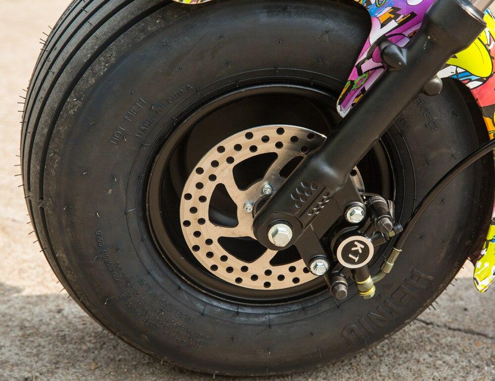 1500W 60V Scooter Drive Motor Rad e bike Hub Motor Elektrische Motorrad Citycoco Roller Elektrische Fahrrad Motor Rad - 5