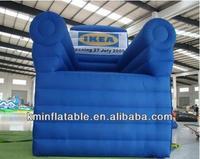 Spedizione gratuita gigante gonfiabile grande divano poltrona gonfiabile pubblicità gonfiabile divano sedia