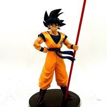 Dragon Ball Z Goku 50-летие Ruyi стоящий вер. Фигурка DBZ памятная Вегета мужские шорты Супер Saiyan Модель 28 см