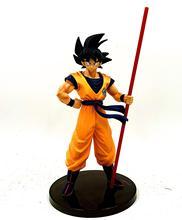 Dragon Ball Z Goku 50th anniversaire Ruyi debout Ver. Figurine DBZ commémorative troncs de légumes Super Saiyan modèle 28cm