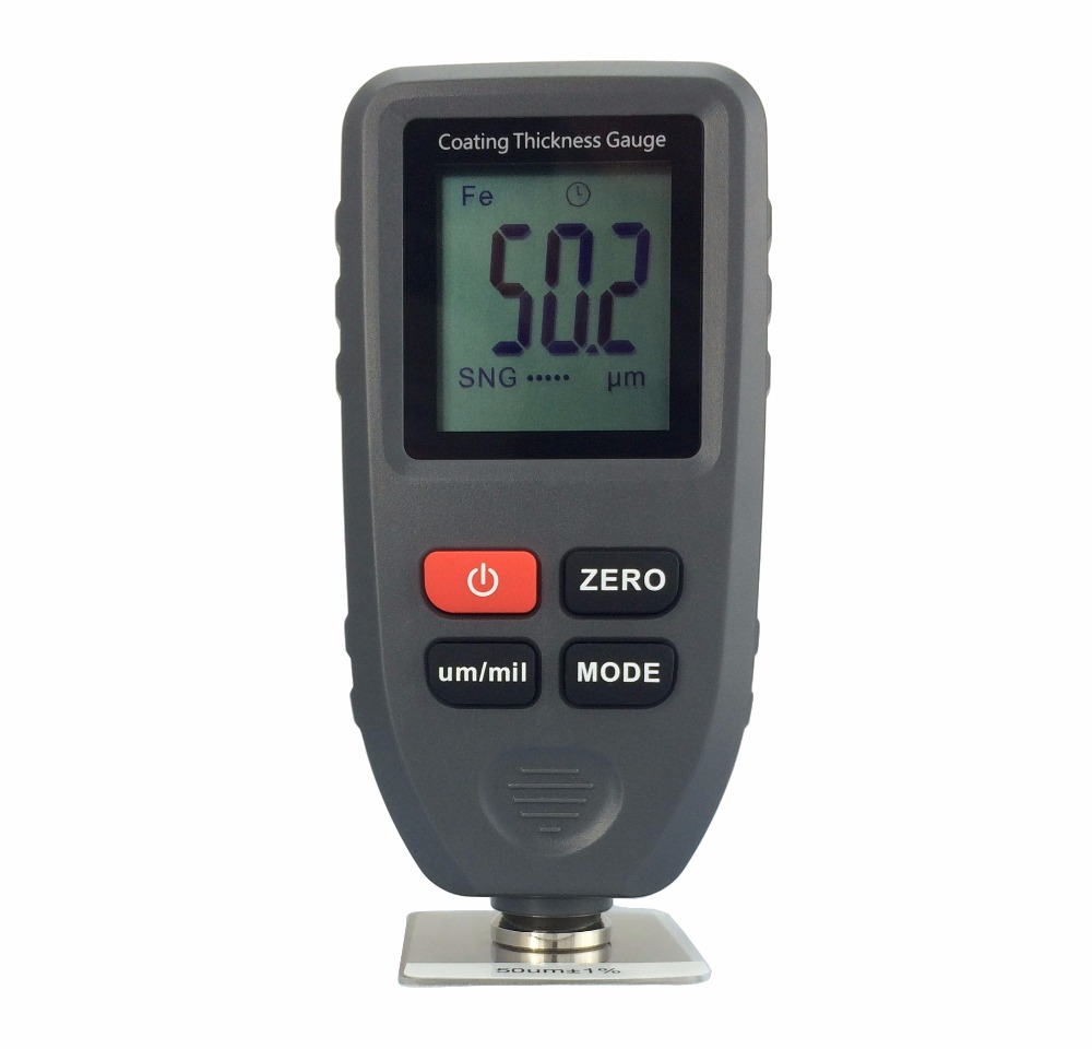 TC-100 Thickness gauge paint coating Digital Car Paint Thickness Meter 0-1300um Width Measuring tester digital paint meter coating thickness gauge 0 1300um paint film metal surface tester car coating paint thickness gauge meter