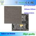 P2.5 SMD крытый rgb из светодиодов модуль 160 мм * 160 мм 64 * 64 пикселей hub75 порта 1/16 привод сканирования полноцветный с высоким разрешением видео из светодиодов экран