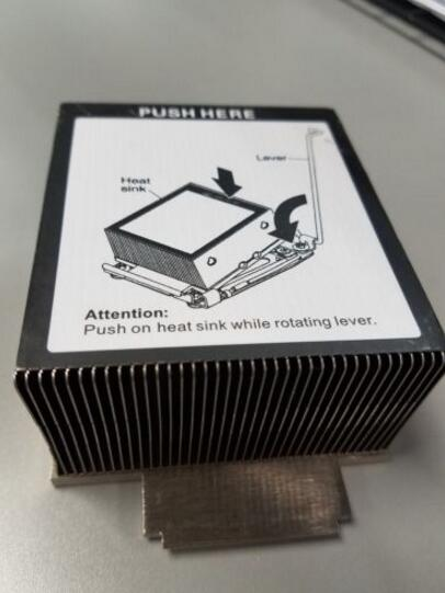 94Y6618 69Y5270 CPU Aluminum Cooling Heatsink for System X3650 M4 94