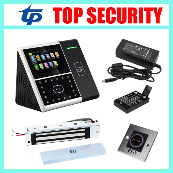 Good quality face recognition time attendance and access control system DIY iface301 facial door access controller card reader