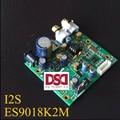 2016 New Breeze Audio ES9018K2M ES9018 I2S Input Decoding Board Mill Plate DAC Supports IIS-32bit 384K / DSD64 128 256