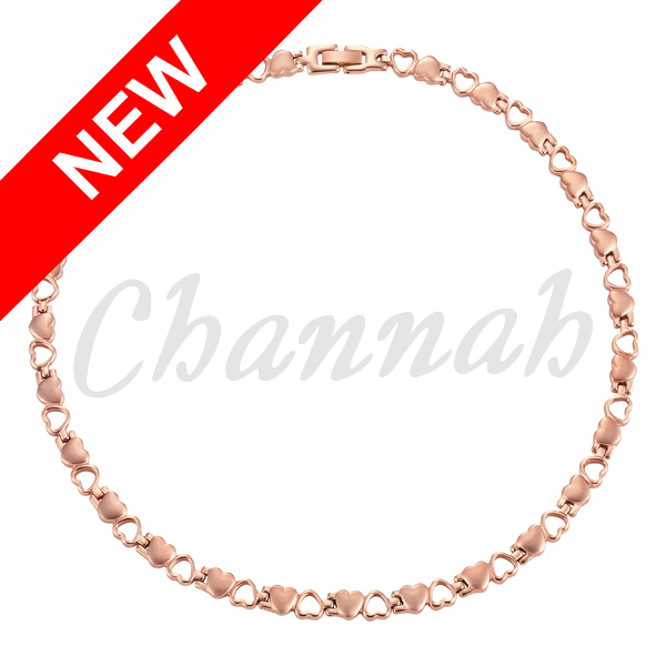 Channah 2017 Women Heart 4in1 Stainless Steel Necklace Ladies Girl Lover Jewelry Bio Gift Rose Gold Magnets Free Shipping Charm