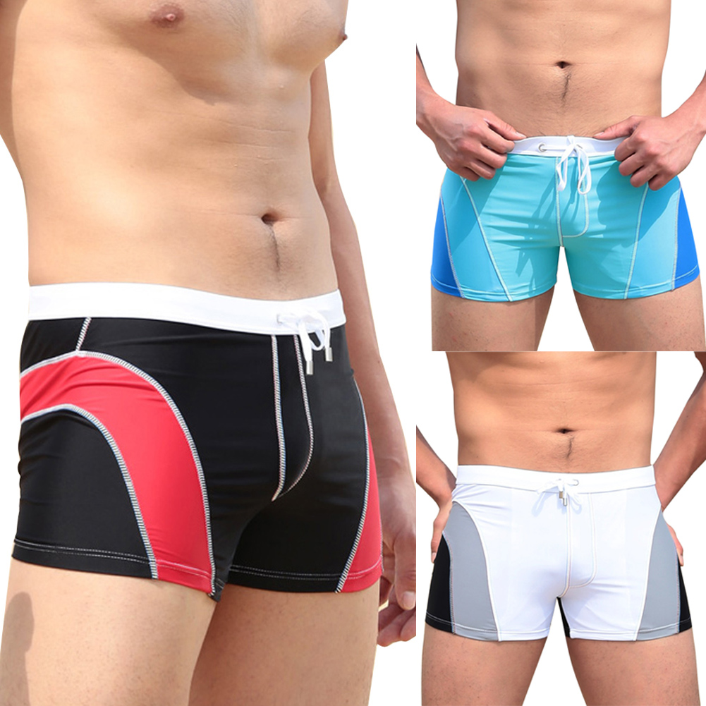 Quick Dry Young Mens Swim wear Men s Swimsuits Bathing Slips Trunks Boxer Briefs Breathable Beach