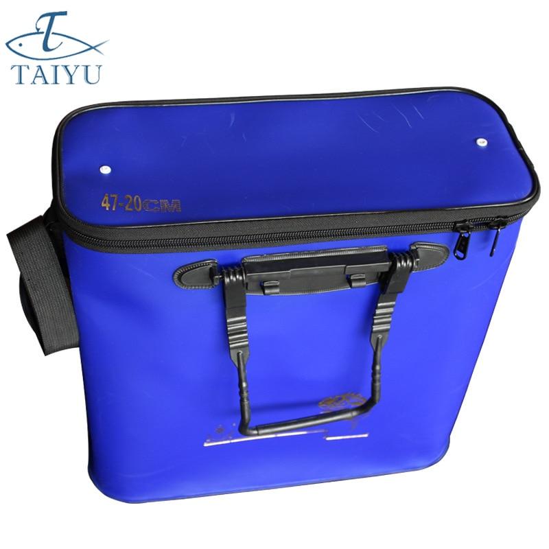 2018 Yeni 47 * 20 * 45cm EVA Çox funksiyalı Balıq torbası Pesca - Balıqçılıq - Fotoqrafiya 2