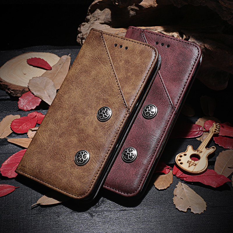 Wallet PU Leather CaseFor iPhone 7 Luxury Phone Cover Cases KickStand Design with Card Holder