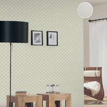 Grey Chequered Embossed Titanic Modern Contemporary Wallpaper