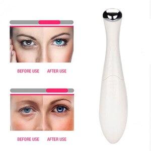 Image 5 - Efero masseur électrique pour les yeux, appareil de massage pour les yeux, élimine les rides et les cercles foncés, Anti pubescence, raffermissant, beauté et soins de la peau