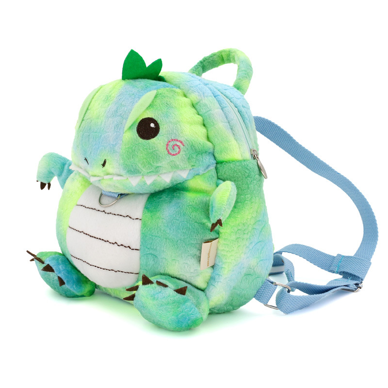 Cute 3D Dinosuar Anti-lost Children School Bags For Girls Bunny Plush Toy Baby Boys Kindergarten Backpack Kids' Gifts For Age1-4