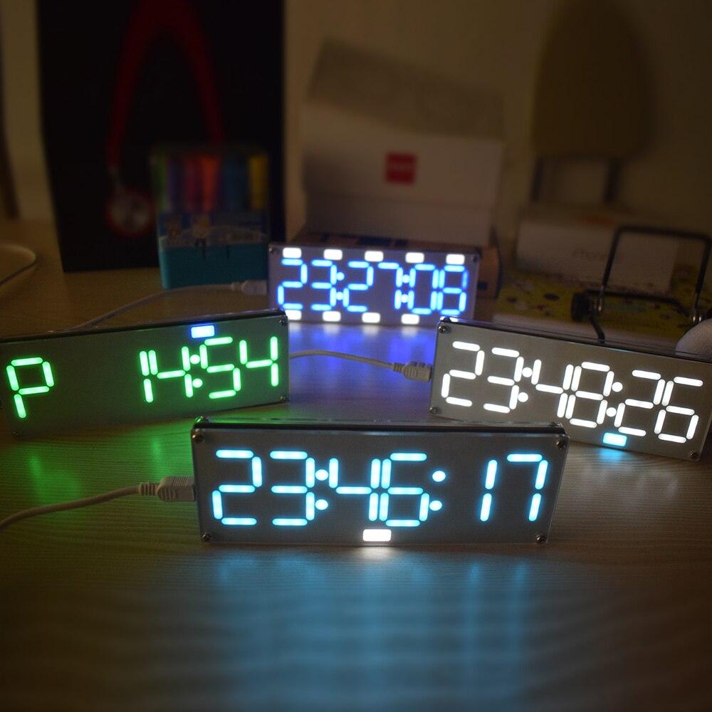 6 digit led clock kit