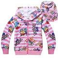 4-12T Pokemon Go Team Shirt Kids Girl Hoodies Clothing Child Zipper Children Hooded Jacket Autumn Long Sleeve Sweatshirt Costume