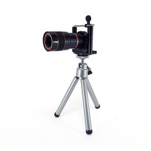 Buy online BUFFLE Universal 8X Zoom Telescope Telephoto Lens With tripod for Meizu MX3 MX4 MX5 MX6 High-Definition Camera Lens