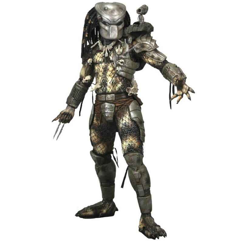 "8 ""20 Cm Neca Predator Seri 8 Klasik 25th Anniversary Hutan Pemburu PVC Action Figure Model Mainan # ZJZ002"