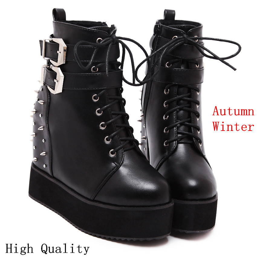 Popular Short Black Boots-Buy Cheap Short Black Boots lots from ...