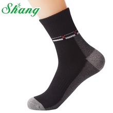 Shang Brand men Sports socks Combed cotton socks men