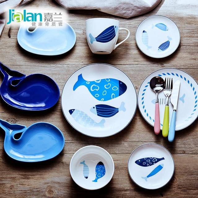 Naczynia Z Porcelany Kostnej 6 Zestawów Dla Dzieci Są Piękne