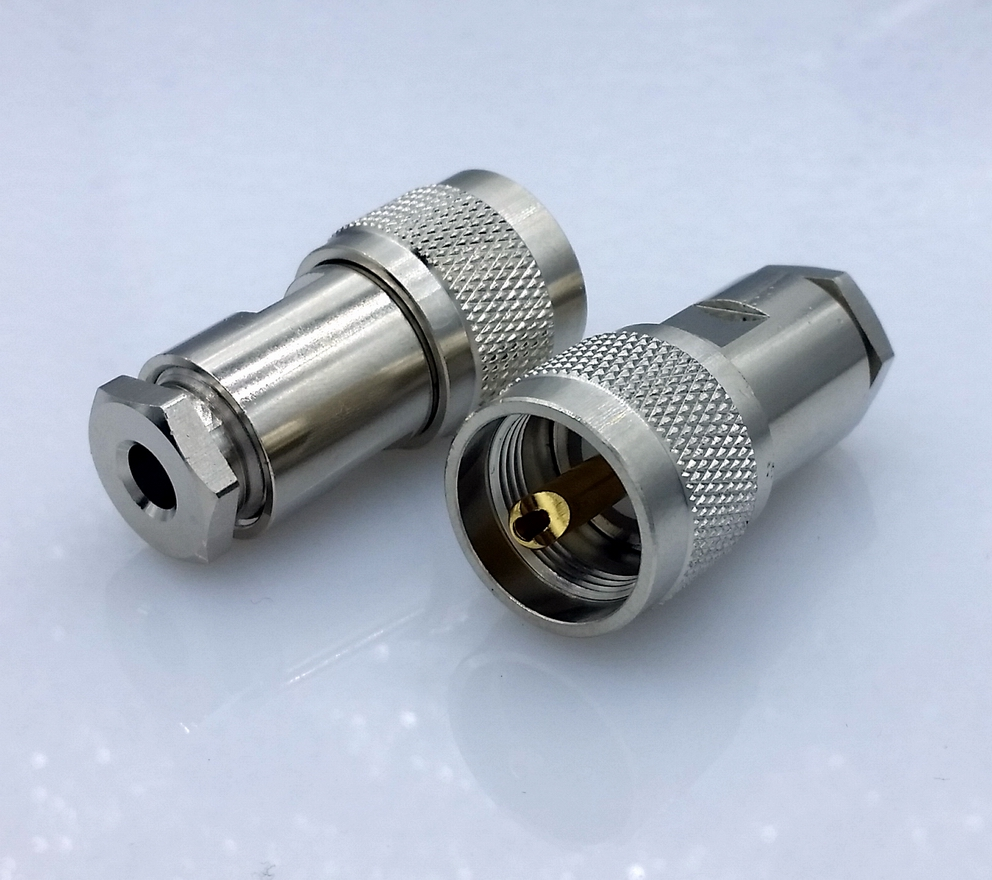 Sl16 M Type Uhf Male Connector Rf Coaxial Connector For