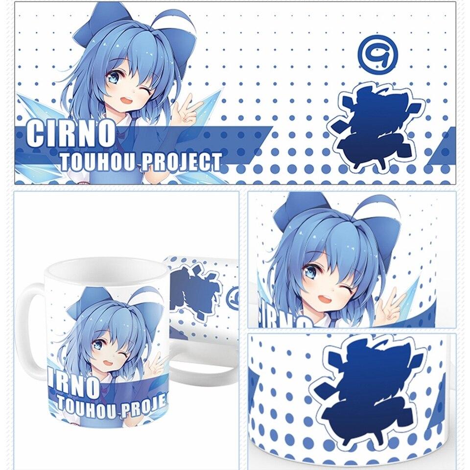 Anime Around TouHou Project Saigyouji Yuyuko Cosplay Bubble Noodle Bowl Lunch