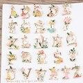 26 unids/lote mezcla mínima de aleación de gota de aceite animales de dibujos animados / flores decoración de Metal letras del alfabeto forma de los encantos colgantes de joyería de bricolaje