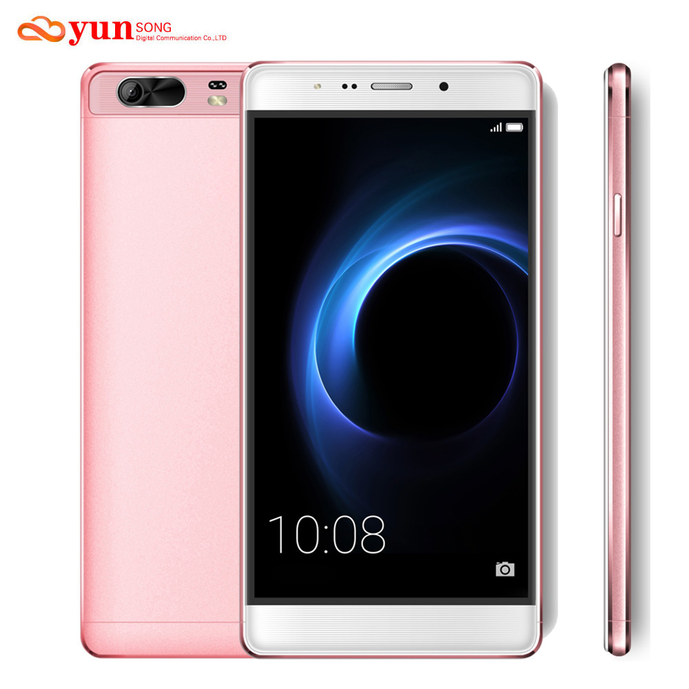 YUNSONG S9 Plus Mobile Phone 6 0 inch screen Smartphone 16MP camera MTK6580 Quad Core Dual