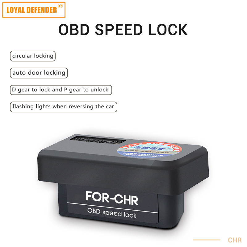 Auto door lock decoder OBD For speed lock & door lock For CHR